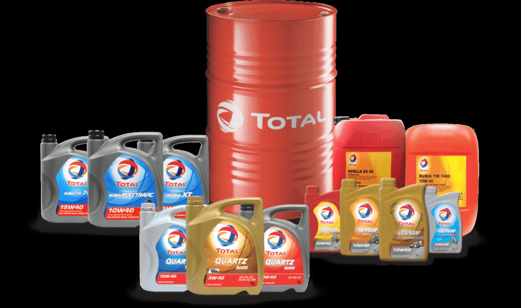 محصولات توتال